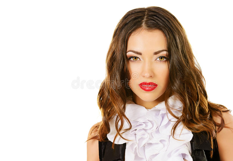 Download Actress portrait stock image. Image of lips, dancer, up - 36123497