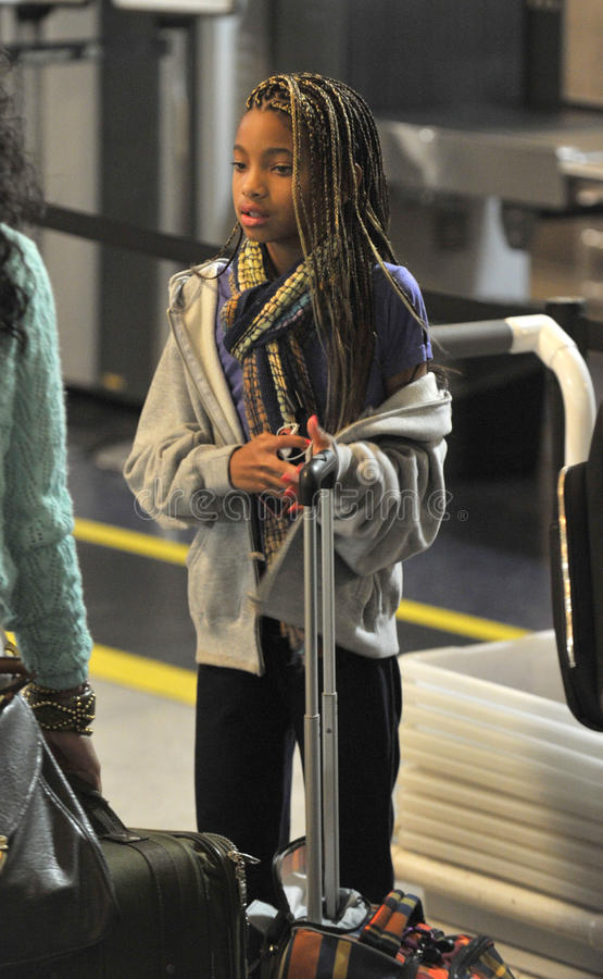 Download Actress Willow Smith Daughter Of Will Smith At LAX Editorial Stock Image - Image of hollywood, girl: 20677869