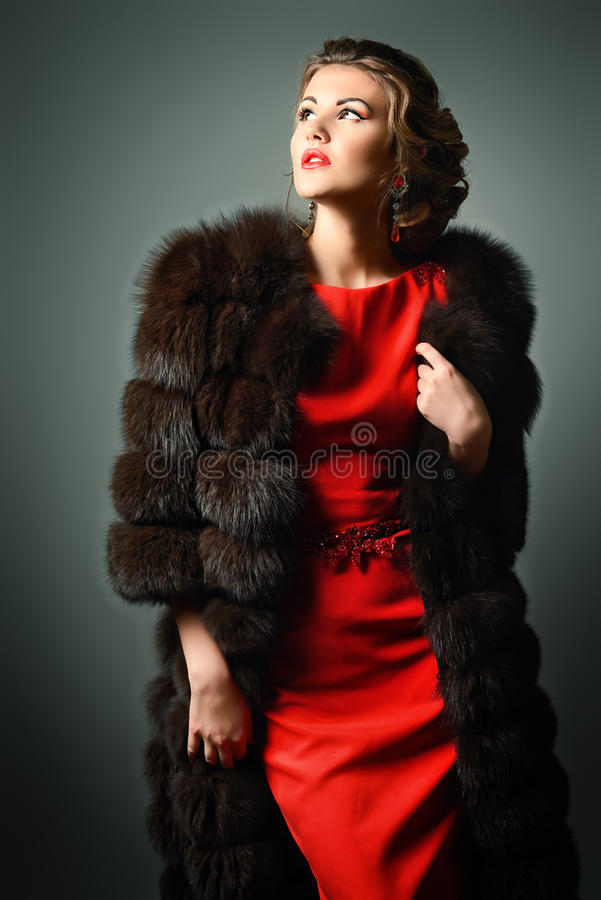 Actrice royalty-vrije stock foto's