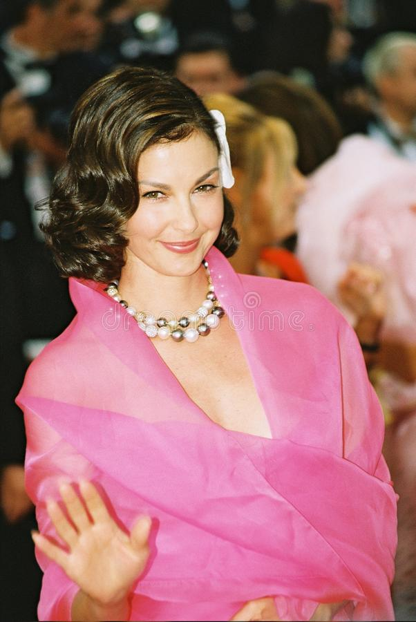 Actrice Ashley Judd royalty-vrije stock afbeeldingen