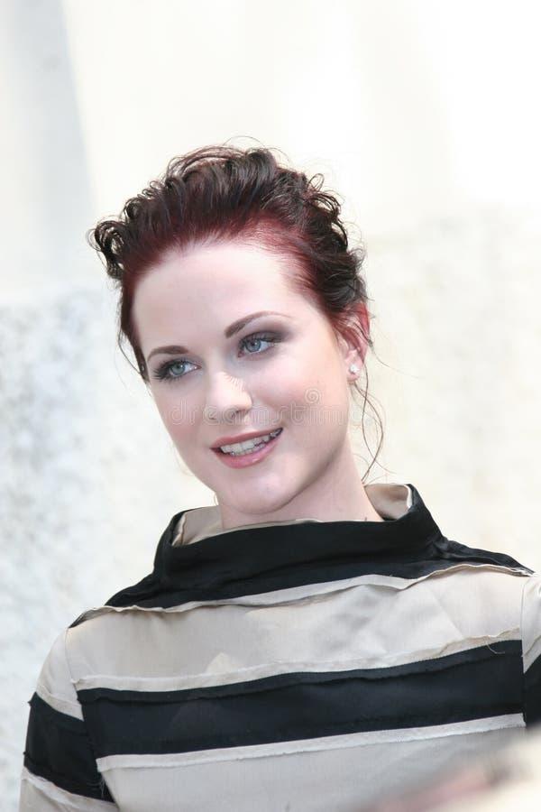 Actrice Evan Rachel Wood stock fotografie