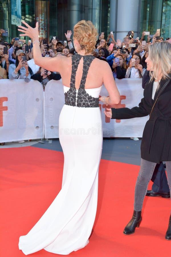 Actrice Kate Winslet bij ` de Bergpremière tijdens het Internationale de Filmfestival van Toronto van 2017 bij Prinses van het Th royalty-vrije stock fotografie