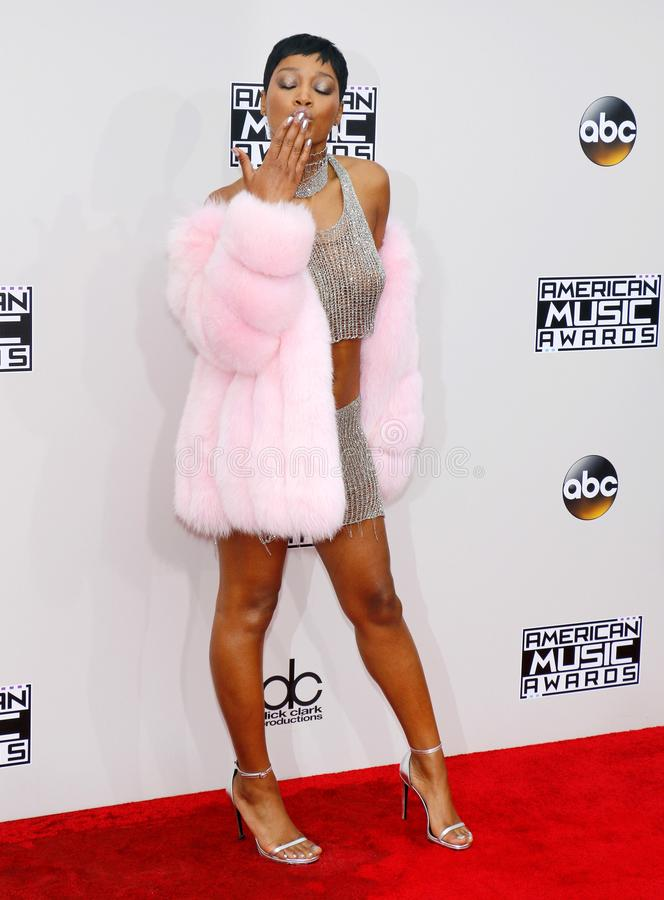 Actrice Keke Palmer royalty-vrije stock afbeelding