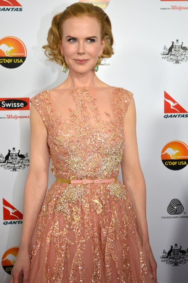 Actrice Nicole Kidman photos libres de droits