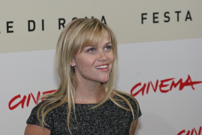 Actrice Reese Witherspoon photographie stock libre de droits