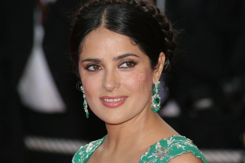 Actrice Salma Hayek royalty-vrije stock afbeelding
