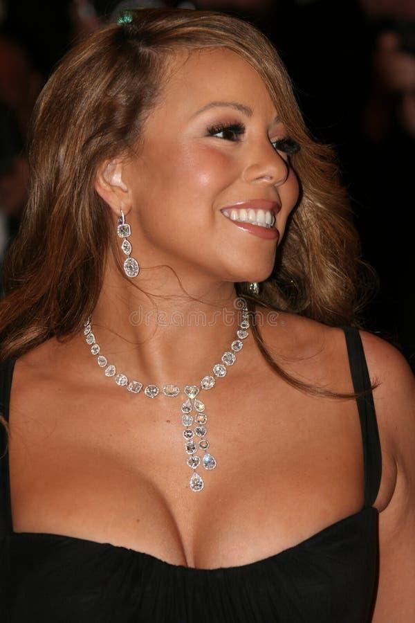 Actriz/cantor Mariah Carey imagens de stock