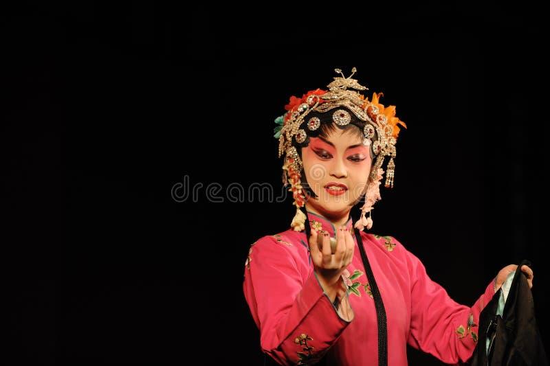 A actriz da ópera de China foto de stock royalty free