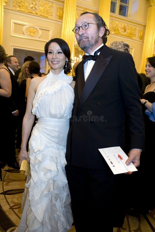 Actriz Lucy Liu imagem de stock royalty free