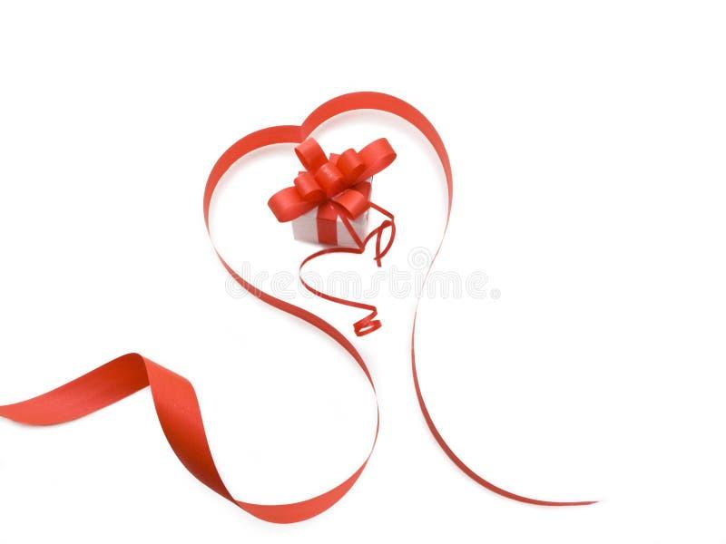 Actual rectángulo con la cinta roja fotos de archivo libres de regalías