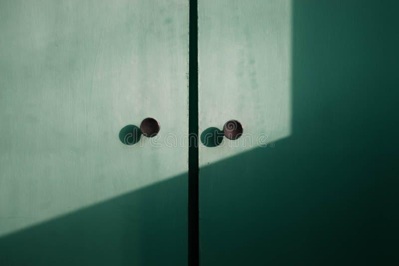 Acua tekstury drewniany drzwiowy abstrakt obrazy royalty free