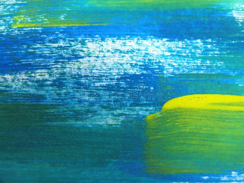 Acuarela abstracta colorida imagenes de archivo