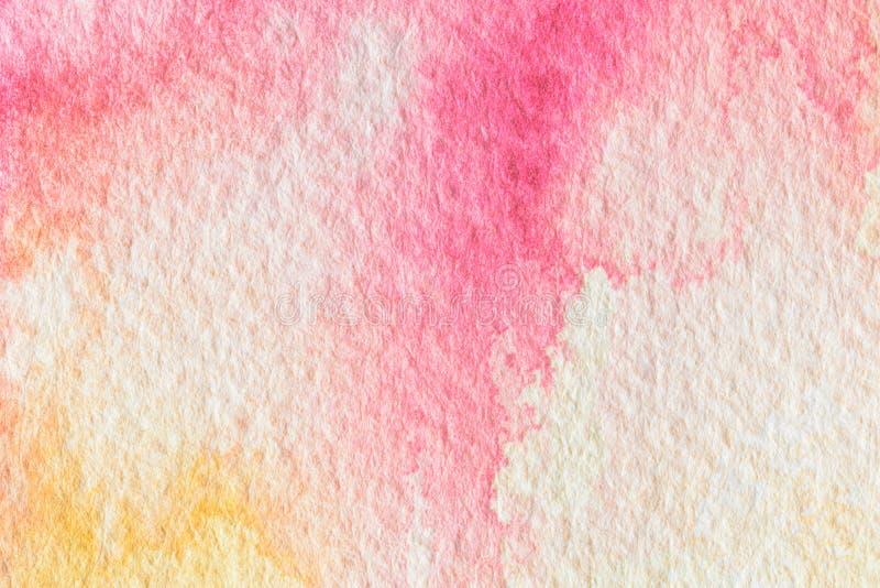 Acuarela colorida abstracta para el fondo fotos de archivo libres de regalías