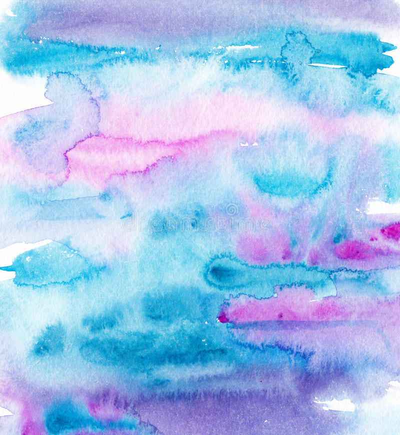 Acuarela colorida abstracta para el fondo libre illustration
