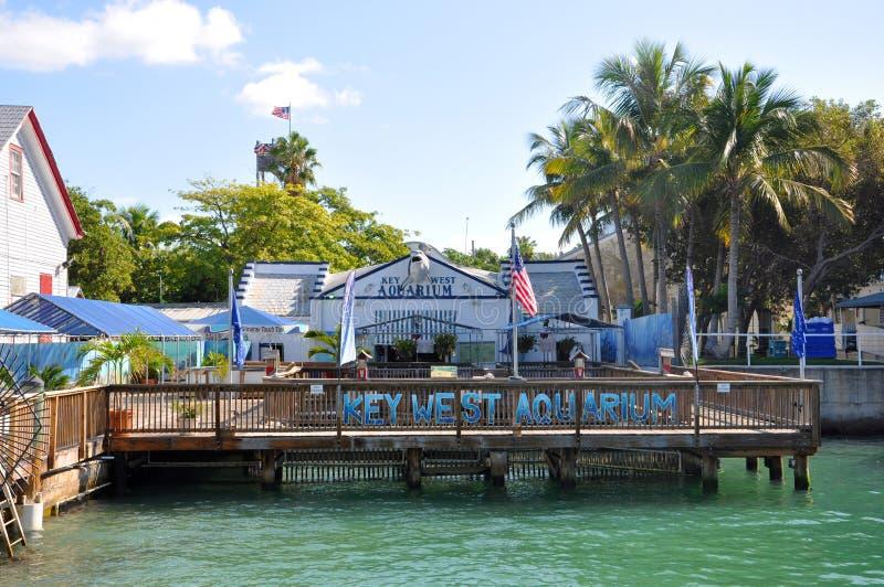 Acuario de Key West, Key West, la Florida imágenes de archivo libres de regalías