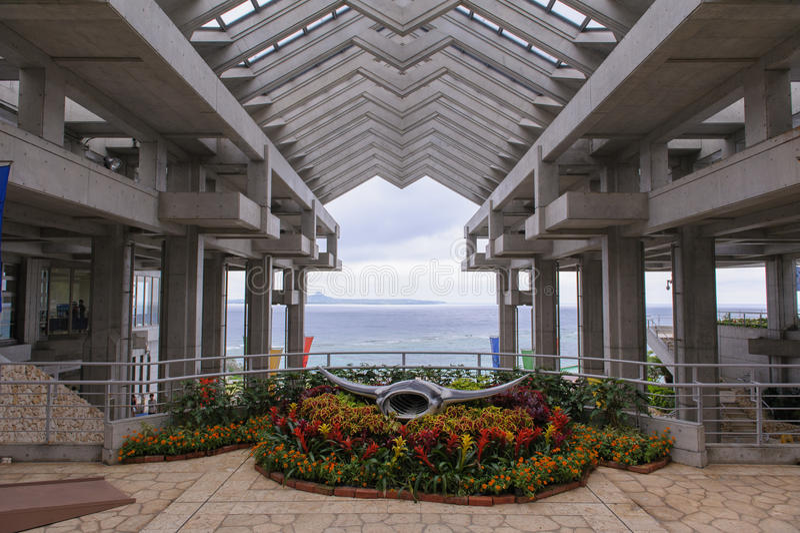 Acuario del churaumi de Okinawa en Japón imagen de archivo libre de regalías