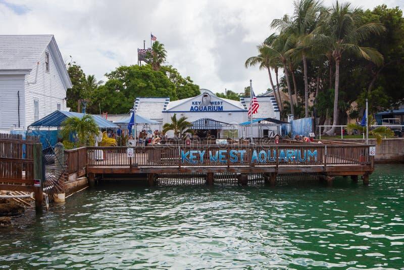 Acuario la Florida de Key West imagenes de archivo