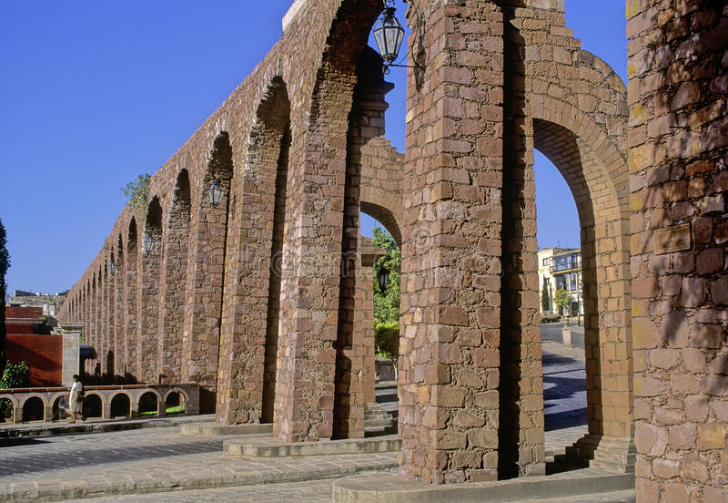 Acueduct de Zacatecas imágenes de archivo libres de regalías