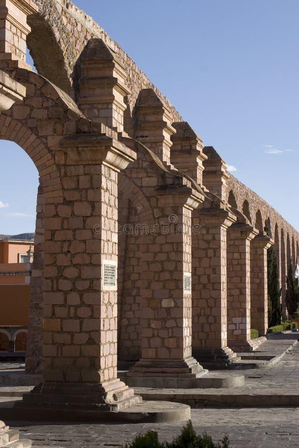 The Aqueduct of Zacatecas stock photos