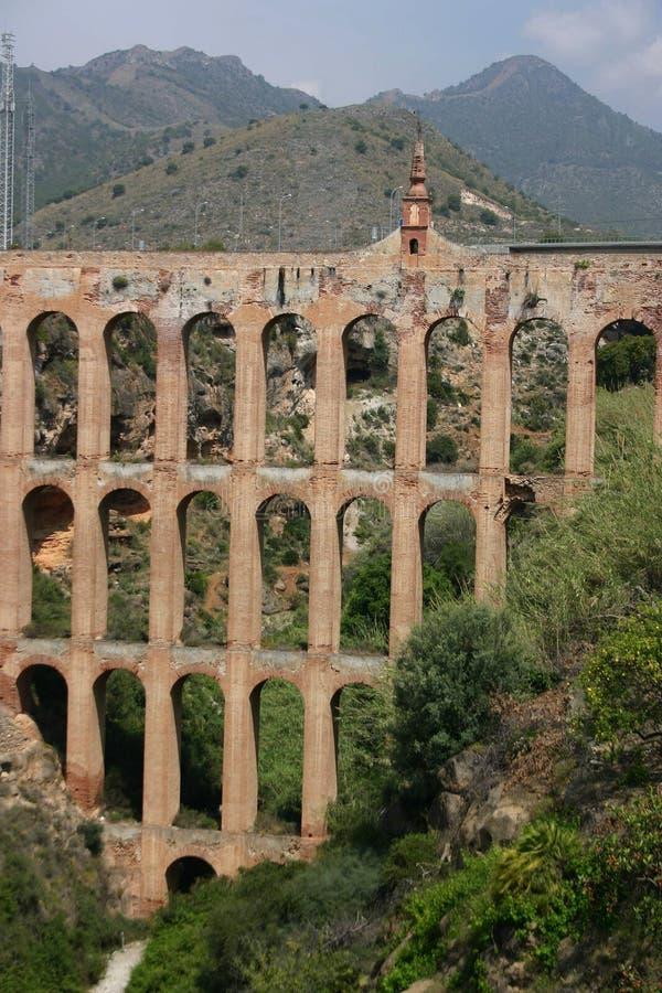 Acueducto, Andalucía, España imagen de archivo libre de regalías