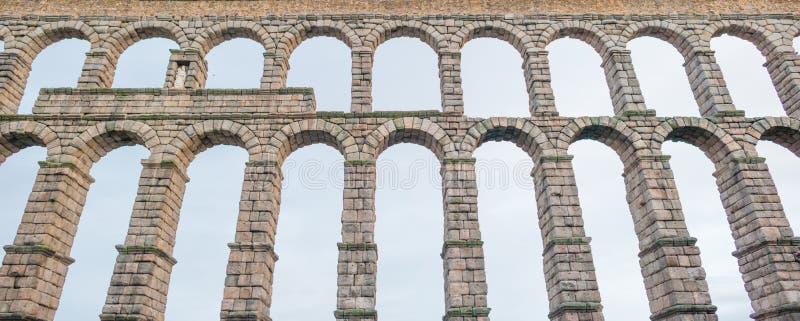 Acueducto de Segovia foto de archivo libre de regalías