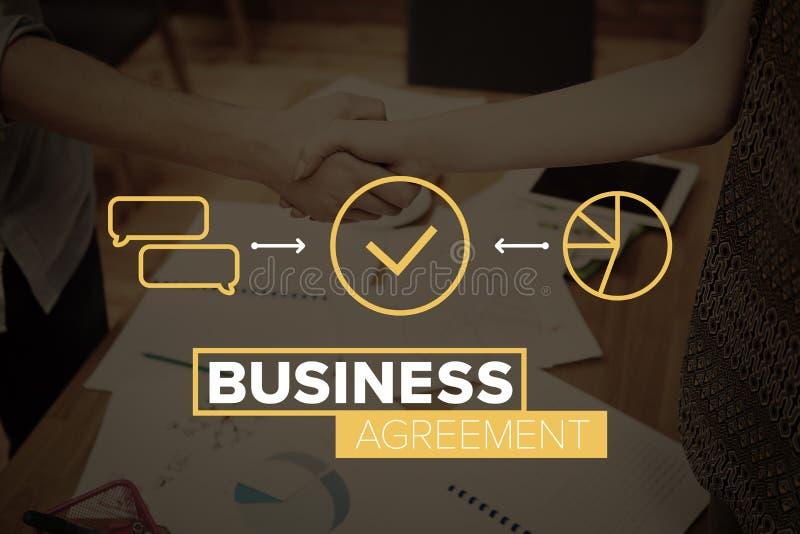 Acuerdo del negocio imagen de archivo