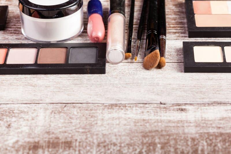 Acuerdos del maquillaje fotos de archivo