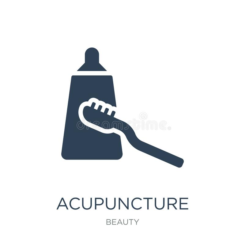 acupuncture icon in trendy design style. acupuncture icon isolated on white background. acupuncture vector icon simple and modern vector illustration