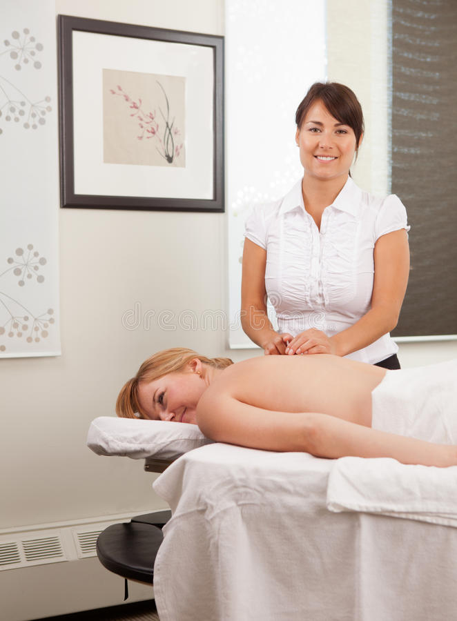 Download Acupunturist Placing A Needle Stock Photo - Image: 21649954