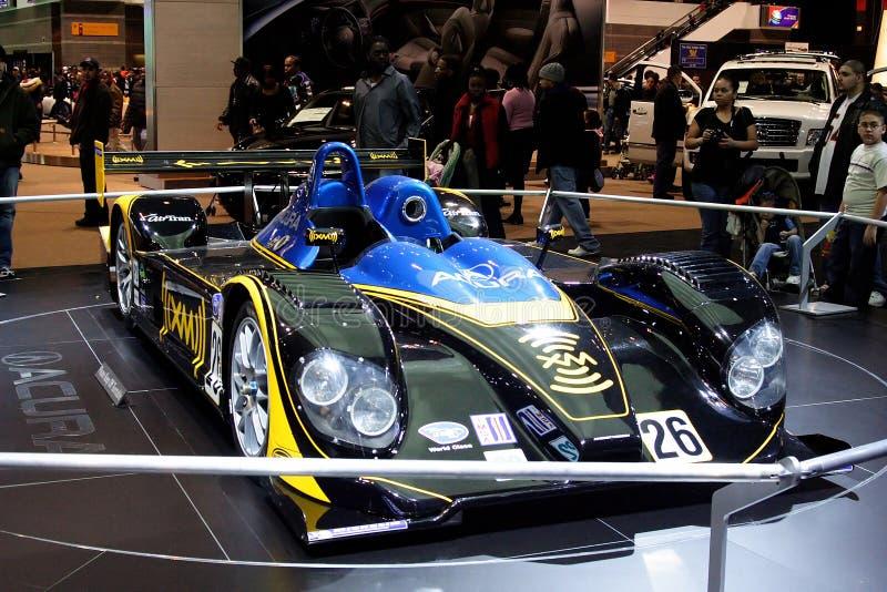Acura国际长途大赛车赛跑 库存照片