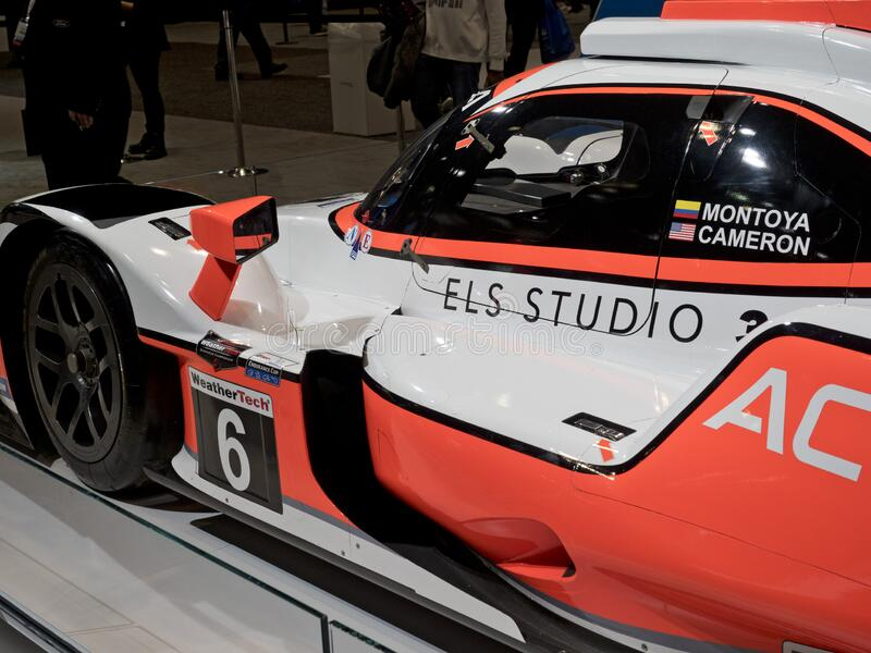 Acura Formula at the annual International Auto-show royalty free stock photography