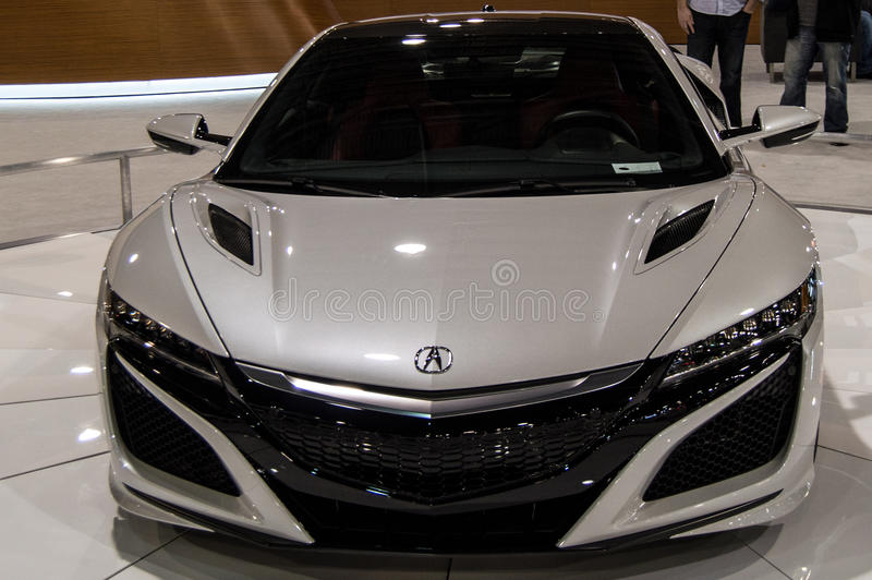 2017 Acura NSX στοκ εικόνα
