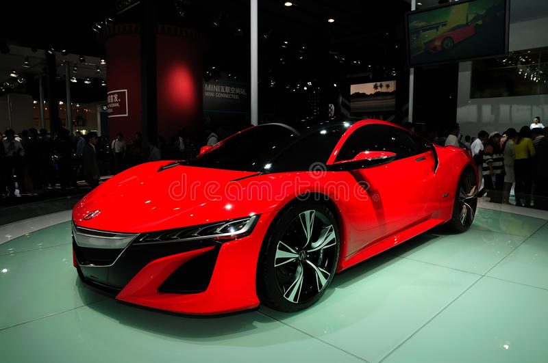 Download ACURA NSX concept car editorial photo. Image of manufacture - 28060531