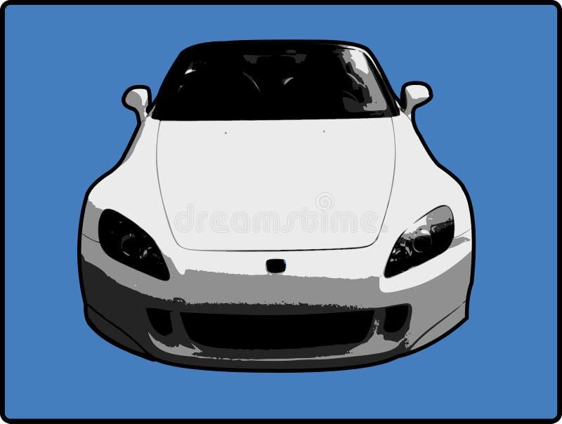 Acura RSX Abbildung stock abbildung