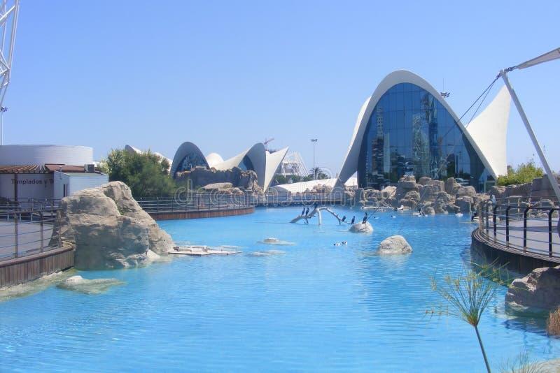 Acvarium Valencia lizenzfreies stockbild