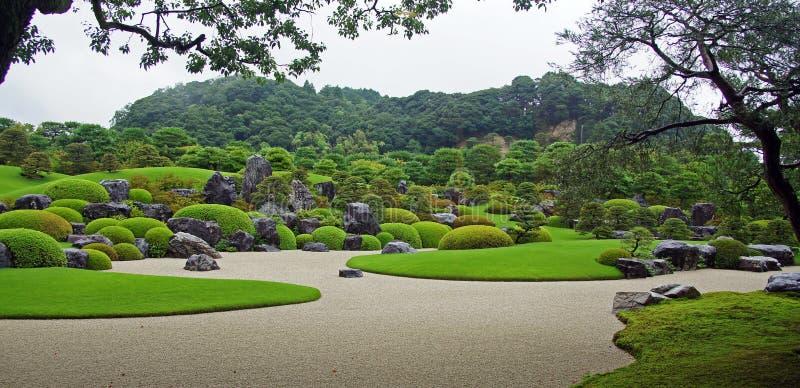 Adachimuseum van Art Gardens in Matsue, Japan stock foto's