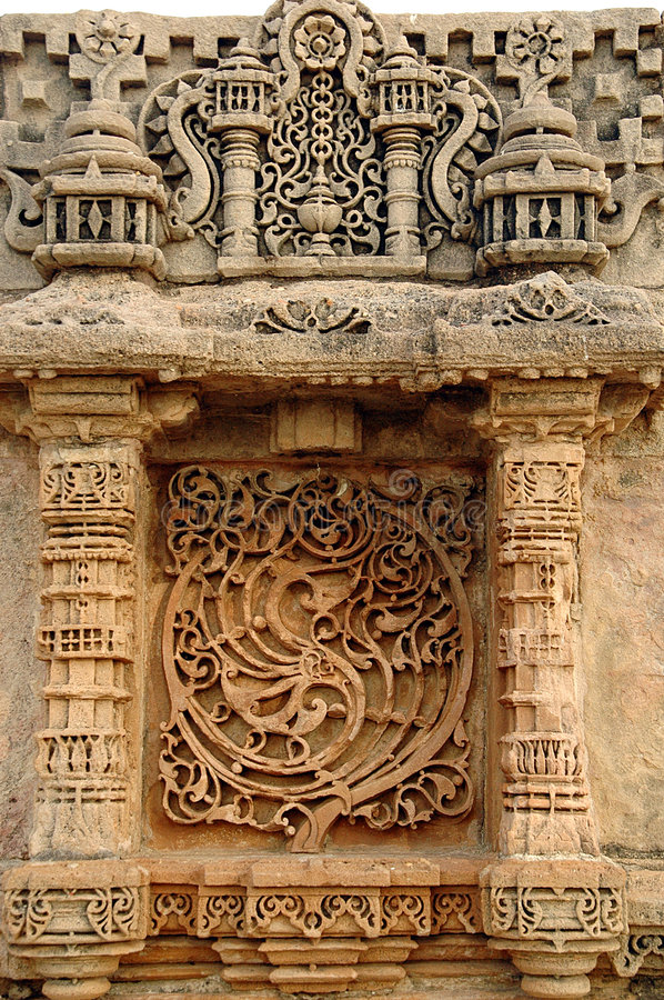 Adalaj step well, ahmadabad royalty free stock photo