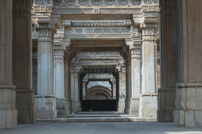 Adalaj Step Well royalty free stock photo