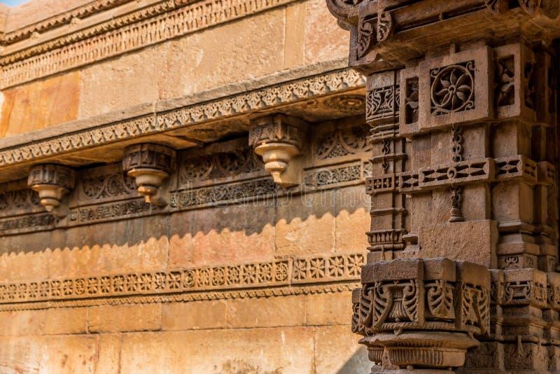 Adalajni Vav, Ahmadabad stock afbeeldingen