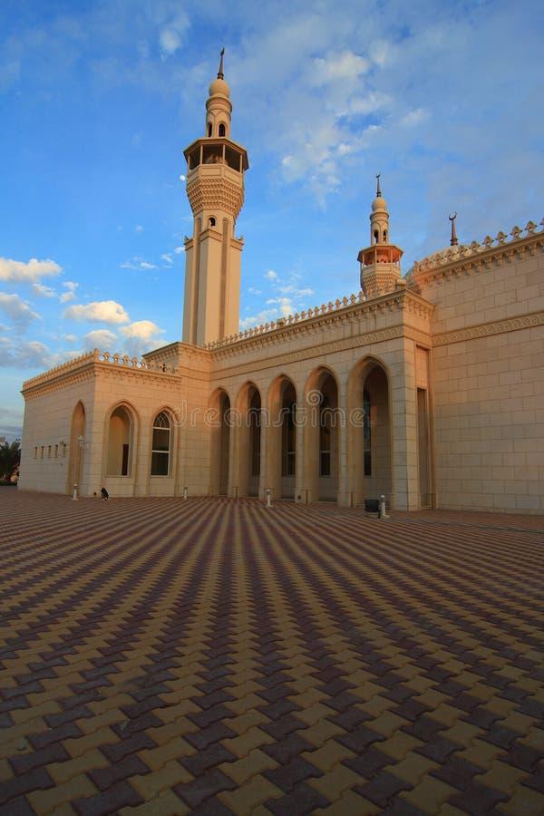adaliyah al Kuwait meczet obrazy stock