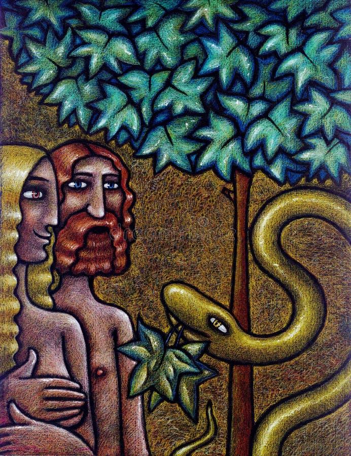 Adam&Eva libre illustration