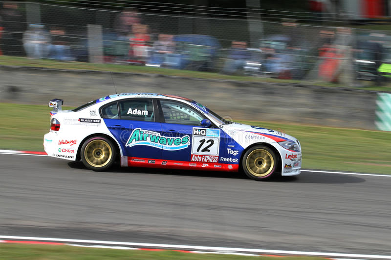 Adam BTCC royalty free stock images