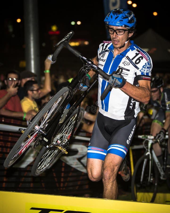 Adam Craig - Vegas transversal Cyclocross fotografia de stock