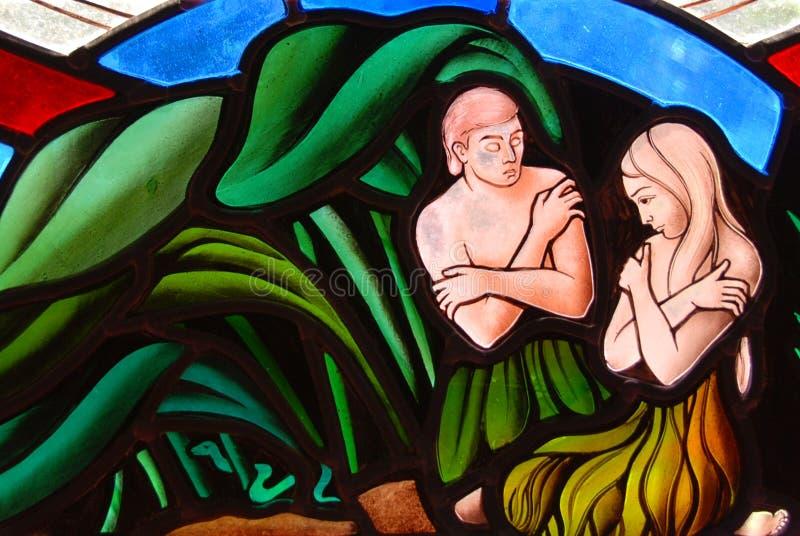 Adam ed Eve fotografia stock