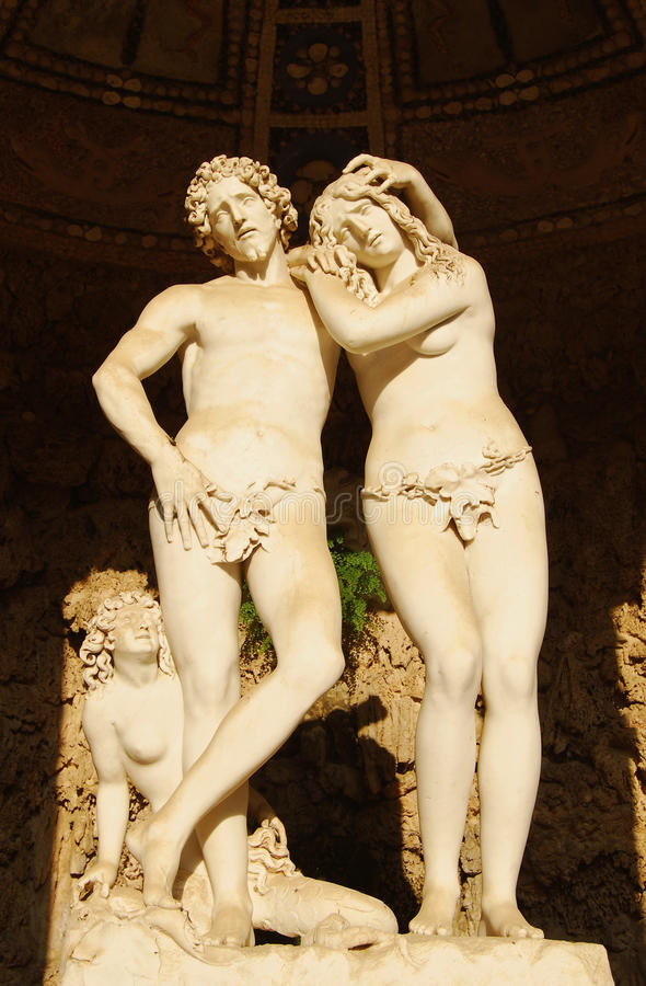Adam et Eve image stock