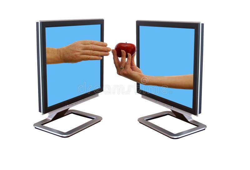 Download Adam and eve stock photo. Image of computer, flatscreen - 2050626