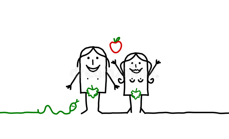 Download Adam & Eve Royalty Free Stock Photography - Image: 7782707