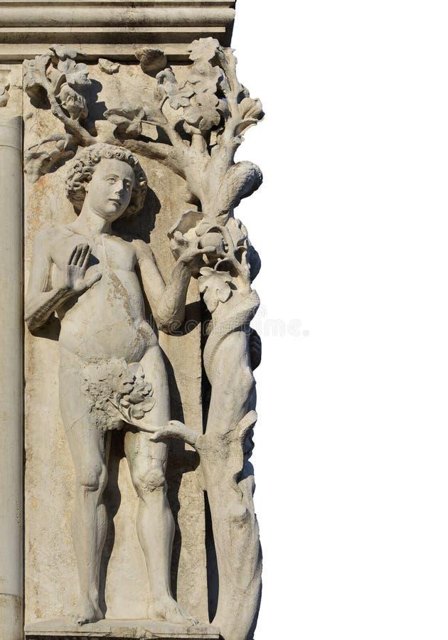 Adam i grzech pierworodny fotografia royalty free