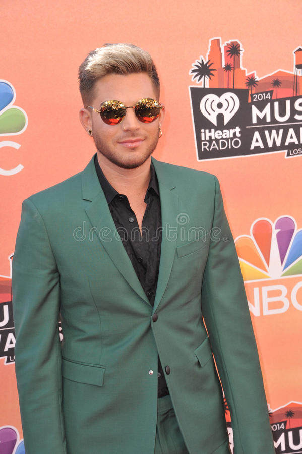 Adam Lambert stock foto