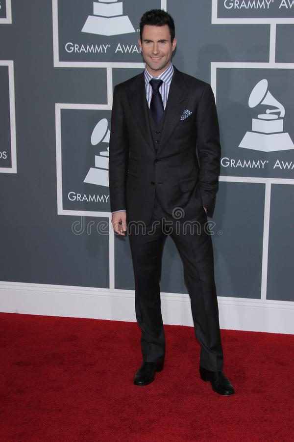 Download Adam Levine editorial stock photo. Image of annual, grammy - 23474938